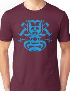 Typo Samurai - Cyan Unisex T-Shirt