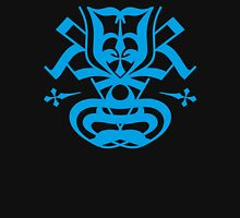 Typo Samurai - Cyan Long Sleeve T-Shirt
