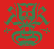 Typo Samurai - Green by krakkdskullz