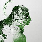 Paint Splatter Superheros: Hulk by Arian Noveir