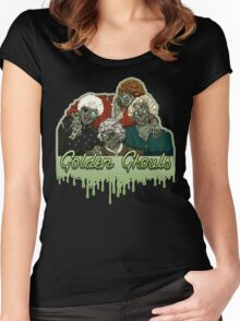 Golden Ghouls Women's Fitted Scoop T-Shirt