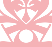 Typo Samurai - Pink Sticker