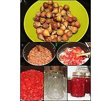 Strawberry Fig Preserves Photographic Print
