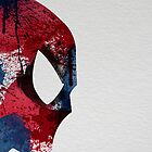 Paint Splatter Superheros: Spiderman by Arian Noveir
