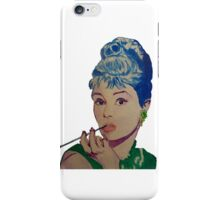Audrey in Color iPhone Case/Skin
