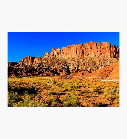 Capitol Reef Sunset Photographic Print