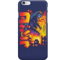 King of the Monsters Redux iPhone Case/Skin