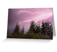 The Raw Power of Mother Nature!  Greeting Card
