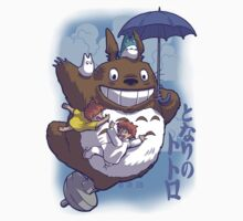 Totoro in Flight T-Shirt