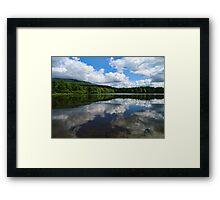 Tillson Lake Preserve Framed Print