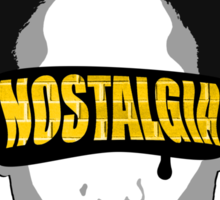 Old Yellow Bricks / Blinded By Nostalgia Sticker