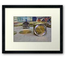 Five cents Peruvian Framed Print