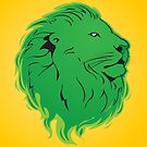 Green Lion by MrAparagi