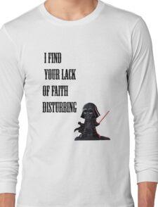 Darth Vader Quote Long Sleeve T-Shirt