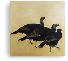 Rafter of Turkeys, 2015 Canvas Print