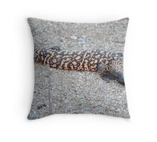Lonely Monster Throw Pillow