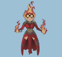 Princess Pyromancer Kids Clothes