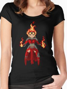 Princess Pyromancer Women's Fitted Scoop T-Shirt