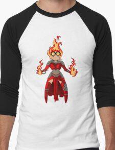 Princess Pyromancer Men's Baseball ¾ T-Shirt