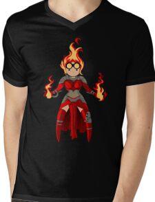 Princess Pyromancer Mens V-Neck T-Shirt