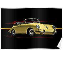 1964 Porsche 356 Cabriolet Poster