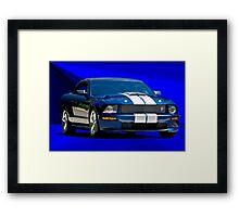 Shelby Mustang Cobra Framed Print