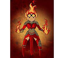 Princess Pyromancer Photographic Print