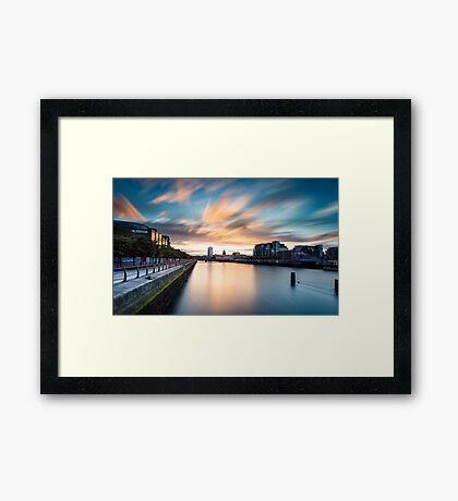 Liffey River Framed Print