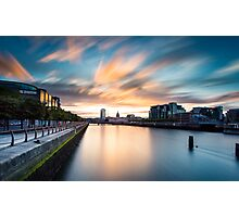Liffey River Photographic Print