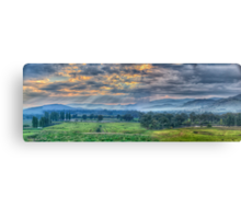 Upper Murray Glory - Walwa Victoria Australia - The HDR Experience Canvas Print