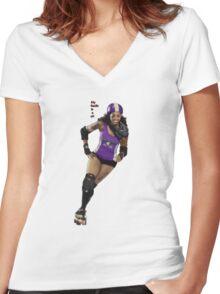 Little Murdermaid Women's Fitted V-Neck T-Shirt