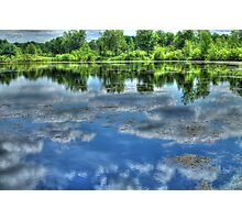 Reflections of a Summer Sky Photographic Print