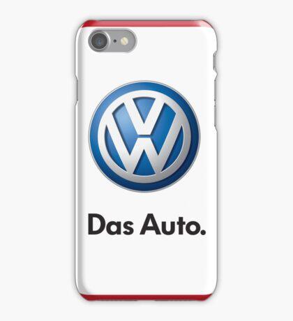 VW Logo Das Auto iPhone Case/Skin
