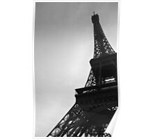 Eiffel Tower Sillouette  Poster