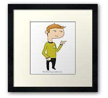 Kirk Framed Print