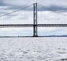 Forth Road Bridge by AmandaJanePhoto