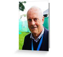 Giles Brandreth Greeting Card