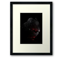 Paint Splatter TMNT : Shredder Framed Print