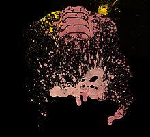 Paint Splatter TMNT : Krang by Arian Noveir