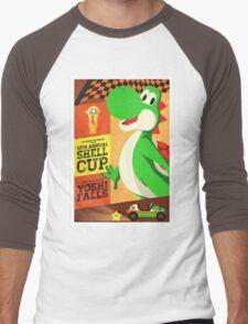 Yoshi Mario Kart Men's Baseball ¾ T-Shirt