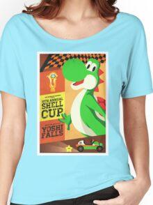 Yoshi Mario Kart Women's Relaxed Fit T-Shirt