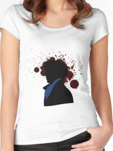 Fallen Sherlock (light) Women's Fitted Scoop T-Shirt