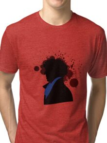 Fallen Sherlock (light) Tri-blend T-Shirt