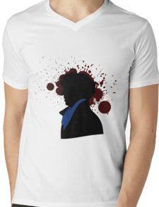Fallen Sherlock (light) Mens V-Neck T-Shirt