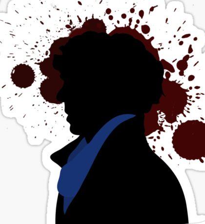 Fallen Sherlock (light) Sticker