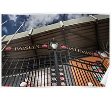 Paisley Gateway - Liverpool FC - Anfield Poster