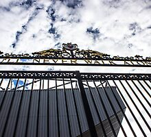 Shankly Gates - Anfield - Liverpool FC by Paul Madden