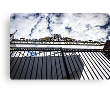 Shankly Gates - Anfield - Liverpool FC Canvas Print