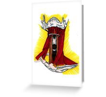 Neck Muscles Greeting Card