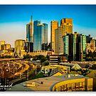 Melbourne Skyline #4 by James Millward
